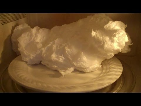 Blow up soap in the Microwave! Yes! Easy!