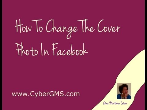 How To Change The Cover Photo in Facebook
