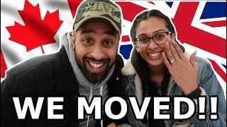 WE MOVED FROM UK TO CANADA | VLOG #1