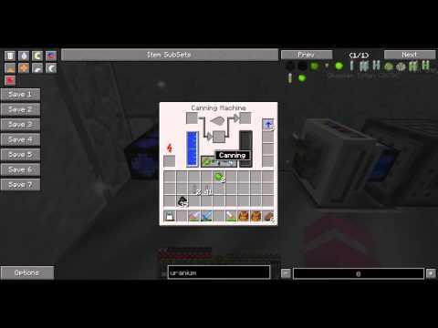 Nuclear Fuel Rod - IndustrialCraft 2 Experimental - Minecraft Minute