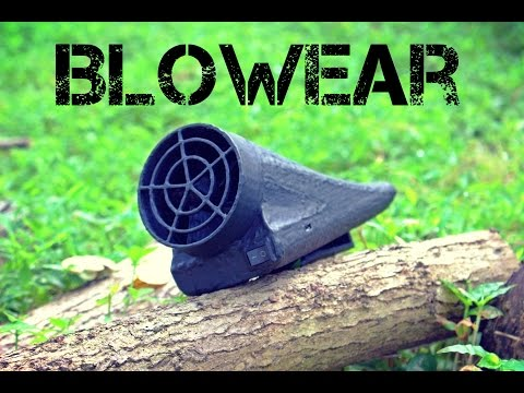 BLOWEAR - Powerfull Personal Cooling System for prevention of heat stroke.