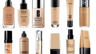 """أفضل خمس """"5""""  كريمات أساس للبشره الدهنيه     for oily skin .. best five foundations"""