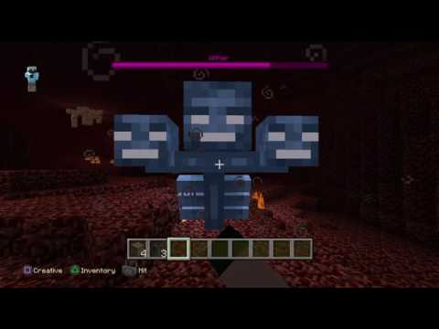 How to spawn the wither in minecraft ps4 edition