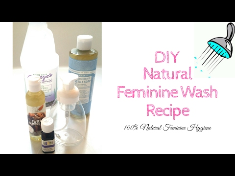 How To Make Natural Feminine Wash | DIY Foaming Vaginal Soap For Your Lady Parts| Feminine Hygiene