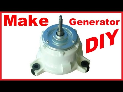 AC INDUCTION MOTOR CONVERSION TO AC PERMANENT MAGNET GENERATOR 2