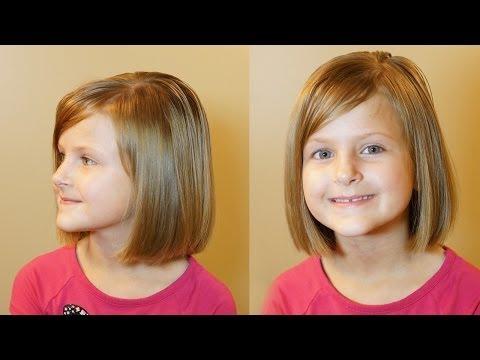 How to do a Bob Cut // Short Hair Tutorial // Girls Haircuts