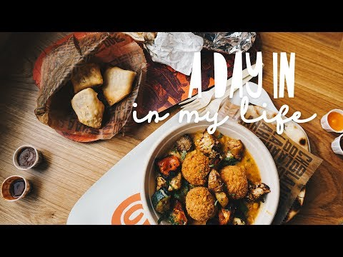 Farmer's Market + New Restaurant//A DAY IN MY LIFE