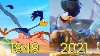 Evolution of Road Runner in Movies, Cartoons & TV (1949-2021)