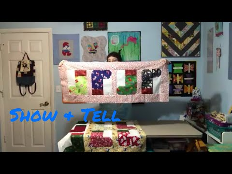 Show & Tell  Christmas Stocking Block Projects