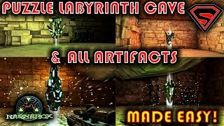 COMPLETING THE LABYRINTH CAVE! :: Exploring the Ragnarok
