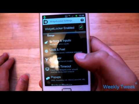 Widget Locker App Review