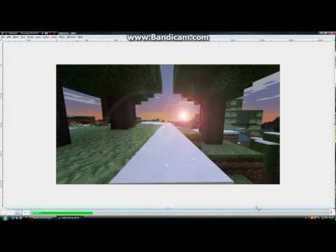 How To Edit An Awesome Minecraft Screenshot
