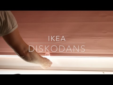 Ikea Diskodans Block-out roller blind