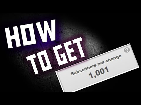 How To Get 1,000 Subscribers On Youtube - Vlogs Gaming