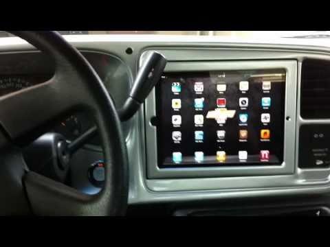 Motorized iPad 2 Install in Silverado