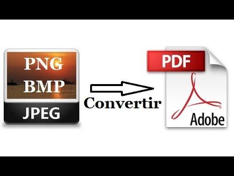 Comment convertir une image en PDF (JPEG, JPG, PNG, BMP…)