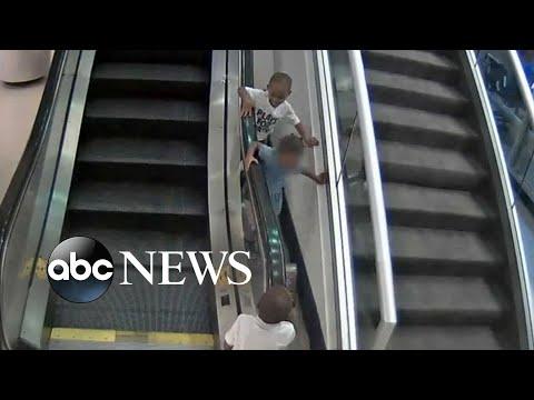 Xxx Mp4 Details Of Tragic Escalator Accident Emerge After Mom's Arrest 3gp Sex