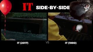 It 1990 Vs It 2017 Trailer The Old The New Side by side