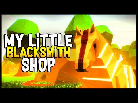 HUGE UPDATE! NEW HORSE, CAVE, & NEW WORLD! - My Little Blacksmith Shop
