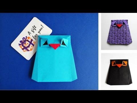 Origami Owl Envelope - Buho de papel