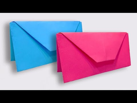 How To Make an Easy Paper Purse | DIY Origami Handbag Making Tutorial for Women | Paper Wallet