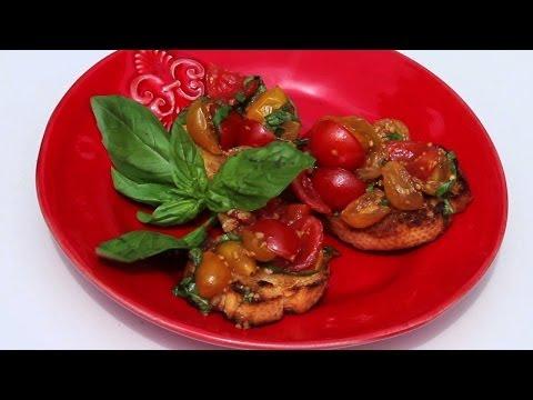 Grilled Italian Bruschetta Recipe