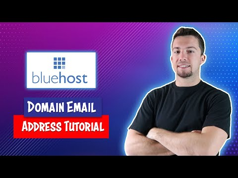 How to Set Up a Domain Email Address on Bluehost