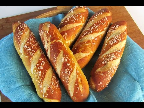 SOFT PRETZEL STICKS From Scratch Recipe #39