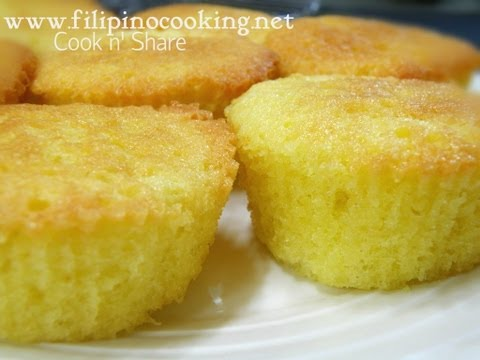Mamon (Sponge Cake)