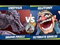 Smash Ultimate Tournament - orKsGP  Glutonny (Wario) Vs Vreyvus (Ridley, Bowser) Valhalla II SSBU GF