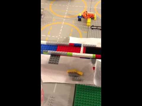 Homeschool project-Roman Aqueduct (LEGO)