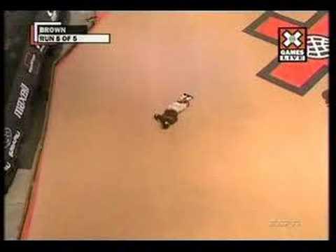 jake brown crash xgames 13 mega ramp