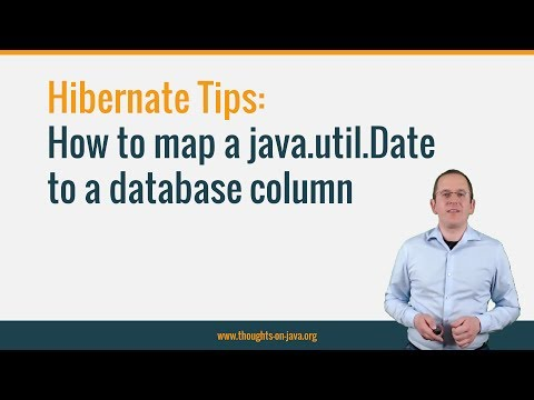Hibernate Tip: How to map a java.util.Date