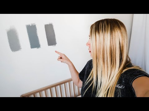Picking Paint Colors For The Nursery!