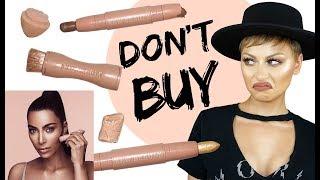 DO NOT BUY KKW Beauty Contour & Highlight Sticks Review   Alexandra Anele