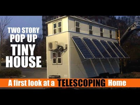 A TWO STORY Pop-Top Tiny House? Is it Possible?