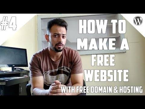[#4] How to Create A Free Website - with Free domain + hosting - with - wordpress website developer