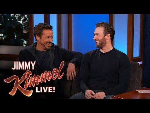 Chris Evans And Robert Downey Jr Filmed In Hotlanta