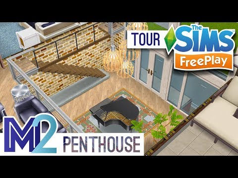 Sims FreePlay - Penthouse Apartment (Remodeled)
