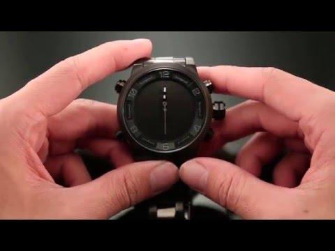 SHARK SPORT WATCH   LED Digital Watch Setting Instruction
