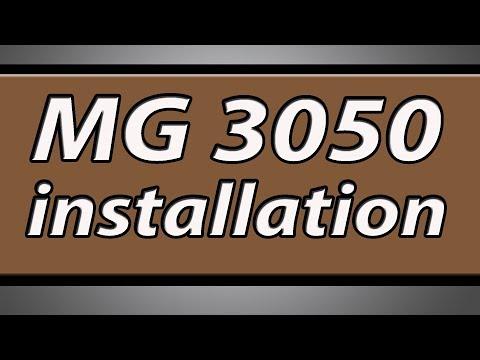 Canon Pixma MG3050 printer installation