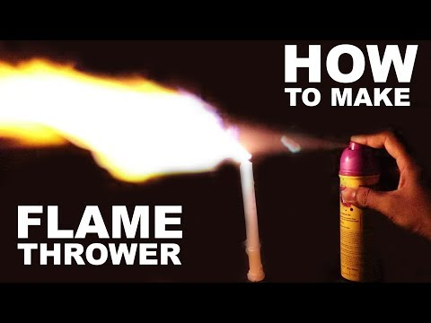 How To Make Best Flamethrower At home Easy Way
