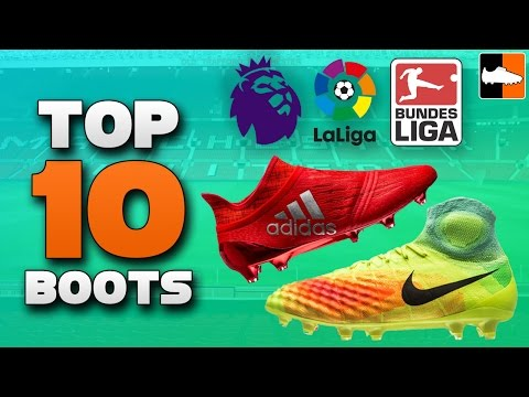 Top 10 Boots for the 2016-17 Season | Best Soccer Cleats