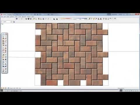 Creating Textures for 3D models in SketchUp