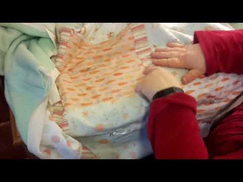 Using fleece as a quilt back