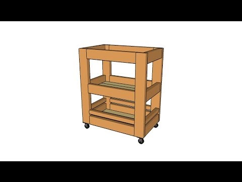 Kitchen cart plans