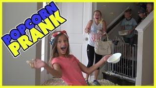 POPCORN PRANK ON MOM | SMELLY BELLY TV BONUS FOOTAGE