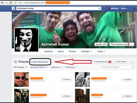 facebook unfriend finder