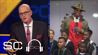 Cam Newton gives back for the holidays | SC with SVP | ESPN