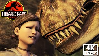JURASSIC PARK: THE GAME All Cutscenes (Game Movie) 4K 60FPS Ultra HD